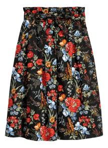 Falda de flores, de HM. 34,99€.
